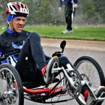 disabled people on triathlon