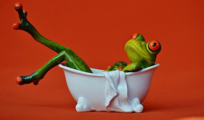 hot bath for athletes
