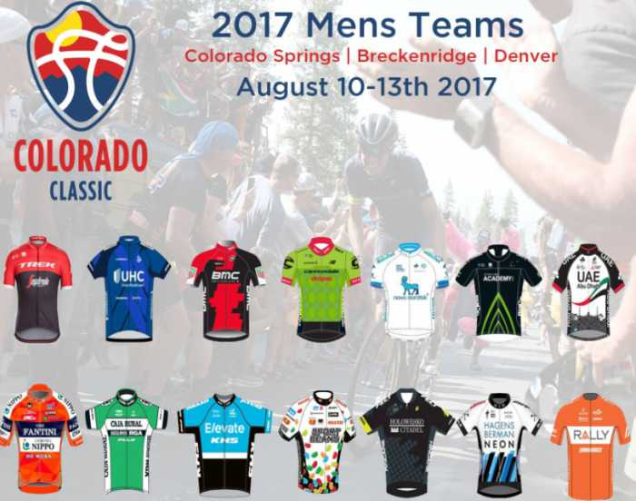 92847586e Colorado Classic opens a new professional cycling race. Here are the pro  teams to participate in the inaugural day