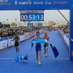 World Cup series triathlon china