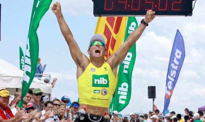 Ironman champion, Dean Mercer, dies after cardiac arrest ...