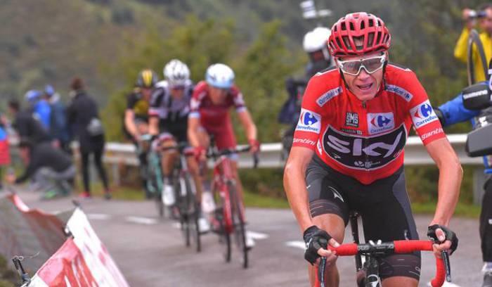 Chris Froome Vuelta a Espana