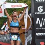Nevada's Elizabeth Lyles just won the Ironman Chattanooga pro race's title