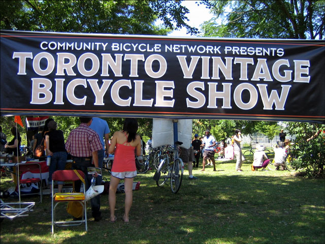 Vintage Bike Show organized by CBN