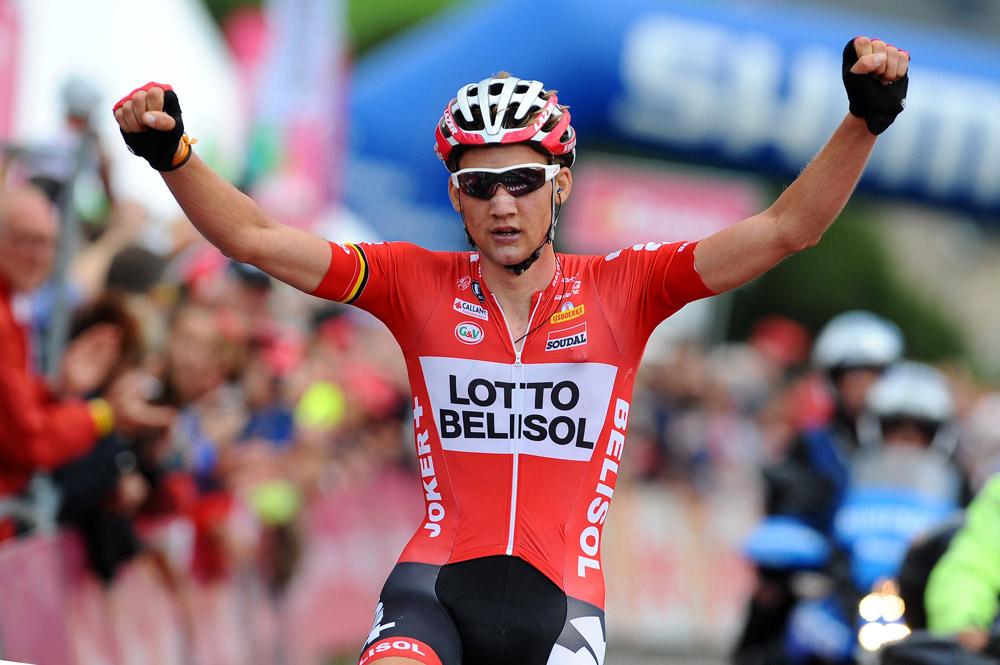 Tim WELLENS (Bel) wins stage six