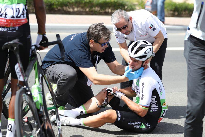 Mark Cavendish abandons Abu Dhabi after crash. Organizers blame brake sensors. Trifind Triathlon News blog- texas triathlons, nyc triathlon, florida triathlons results