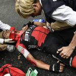 Breaking:  Richie Porte out of Tour de France after horrifying stage 9 crash
