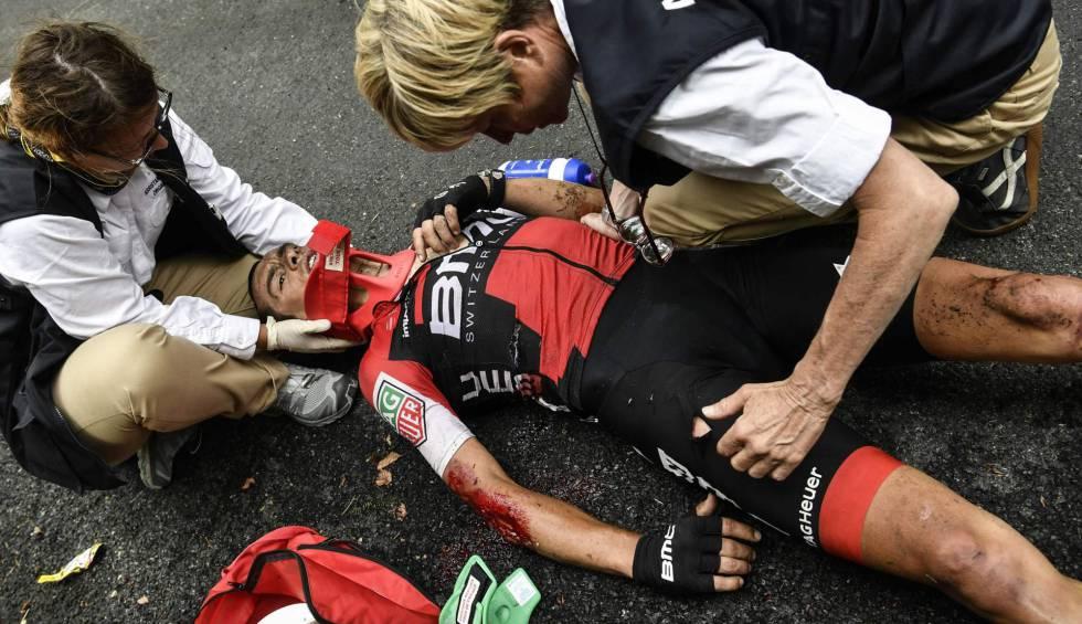 Crash Yesterday Tour De France