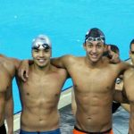 Egypt swimming team