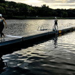 Men's Texas A&M Kicks off Championship Season with CSCCA Open Water Swim