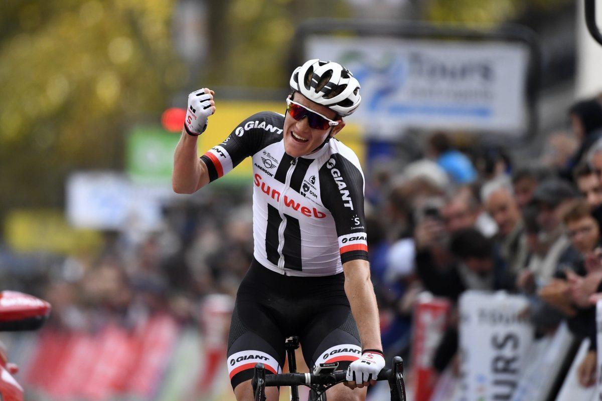 Tours - France - wielrennen - cycling - cyclisme - radsport - Soren KRAGH ANDERSEN (Danmark / Team Sunweb)  pictured during     112th Paris - Tours Elite (1.HC) - photo VK/PN/Cor Vos © 2018