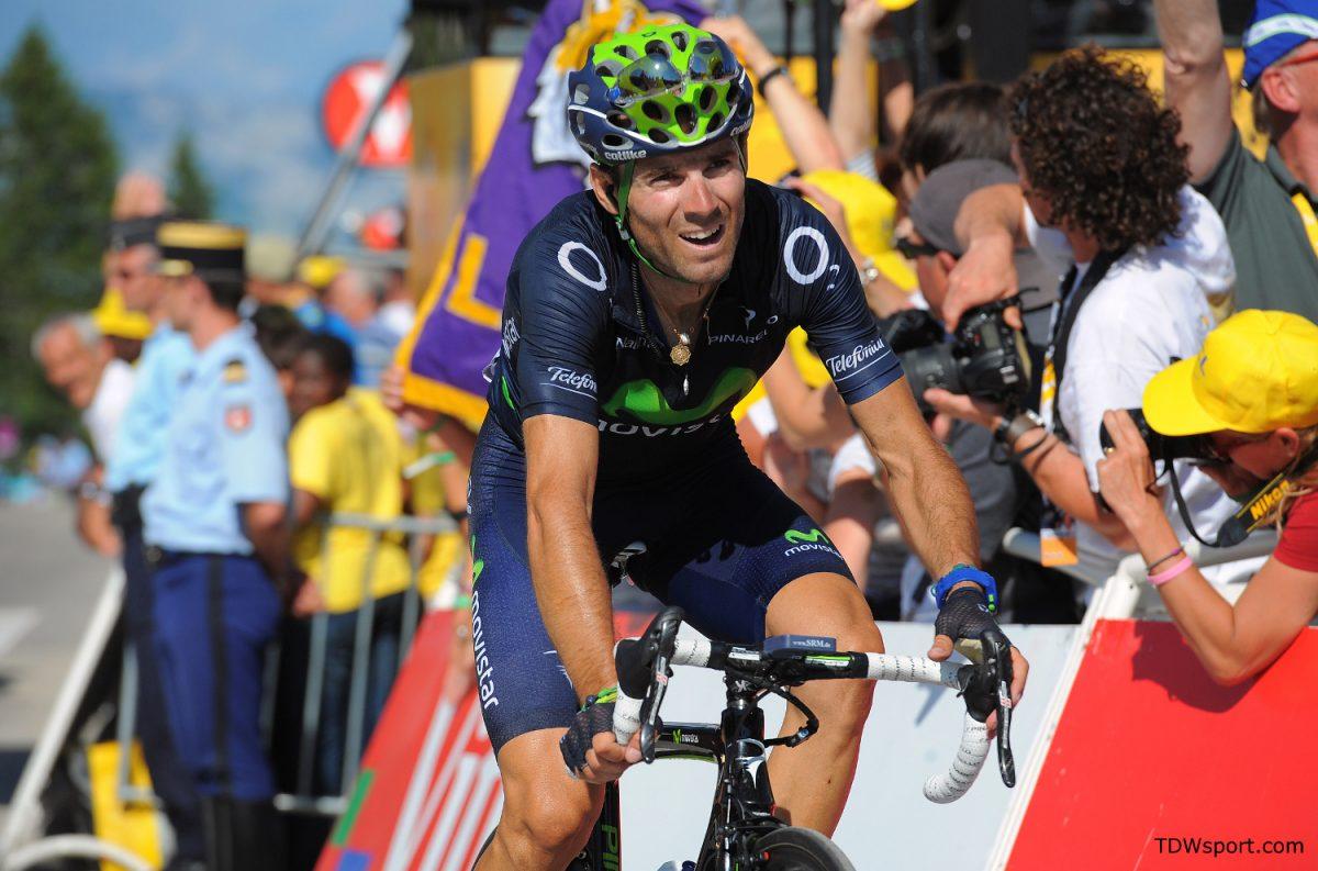 Cycling : 100th Tour de France 2013 / Stage 20  Arrival / Alejandro Valverde (Spa)/  Annecy - Annecy-Semnoz (125Km)/  Ronde van Frankrijk TDF / Rite Etape /(c)Tim De Waele