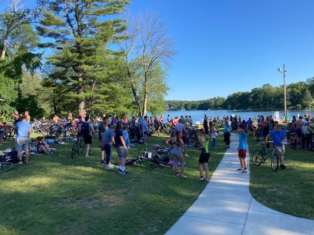 2021 Lake Terramuggus Sprint Triathlon #1
